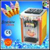 Countertop Colour Painting Soft Ice Cream Machine
