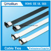 PVC Coated 201 Stainless Steel Cable Ties Wing Locked Type