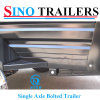Adr Durable Powder Coating Box Trailer for Farm