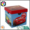 Folding Archive File Cardboard Paper Storage Box with Lid