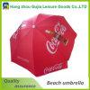 Waterproof Sunshade Straight Beach Umbrella with Printing