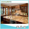Coffee Brown Custom Design Polished Quartz Stone Countertop
