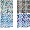 Moroccan Mosaic Tile Random Strip Glass Mosaic Tile Iridescent Glass Mosaic Tile
