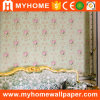 High Grade Wallpaper with PVC Embossed Flower
