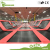 ASTM Approved Business Plan Indoor Trampoline with Factory Price