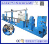 Teflon Cable Extrusion Machine with PLC Touch Screen Controlled