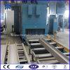 Roller Conveyor Type Road Edge Stone Shot Blasting Machine, Road Construction Product Using Equipment