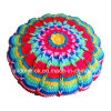 New Design Fancy Decorative Hand Knitted Crochet Cushion Pillow Case