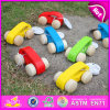 2015 Colorful Cheap Wooden Cars Toy for Kids, Funny Play Wooden Car Toys for Children, Baby Mini Wooden Toy Car Wholesale W04A142