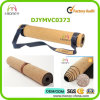 100% Natural Cork Top Layer and Rubber Base Yoga Mat Set
