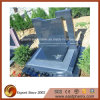 European Style Blue Granite Tombstone