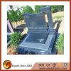 European Style Blue Granite Tombstone