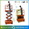 3m 4m Hydraulic Semi Electric Mobile Elevator Hydraulic Work Table