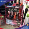 China Manufacturer Pink Color Rotating Acrylic Lipstick Display