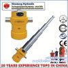 Single Acting Telescopic Piston Hydraulic Cylinder