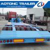 2 Lines 4 Axle 16 Wheel 80 Tons Lowboy Semi Trailer