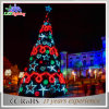 Festival Decorative Creative Triangle LED Artificial Christmas Tree Decoration Light