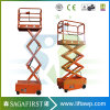 6m 12m Self Propelled Scissor Man Lift