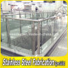 Durable Stainless Steel Balcony Railing Design with Glass