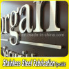 Brushed 3D Stainless Steel Letter Signs Metal Letter Signs