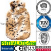 CE Hot Water Bottle Cover Fake Tiger Fur