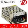 Quality 35W DC Power Adapter with 12V/24V Output (HS-35W)