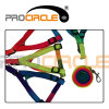 New Arrival Procircle Multicolor 1.1m Polyester Harness Dog Rope (PC-DP1002)