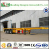 High Quality 40t 3 Axle Skeletal Container Truck Trailer