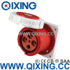 380-415V 125A Splash Proof IP67 5pin IEC309 Industrial Socket + Plug
