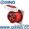 Water & Wood AC 380-415V 125A Splash Proof IP67 5pin IEC309 Industrial Socket + Plug