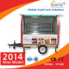 2014 Best Selling CE Approved Outdoor Food Trailer/Hot Dog Cart/Pizza Cart Manufacturer