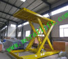 CE/ISO/SGS/CCC Approved Sjg3-4 Model Scissor Lift Car/3m Lift Height Hydraulic Car Lift /Two Level Hydraulic Scissor Lift Car