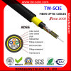 Aramid Yarn Fiber Optic Cable ADSS