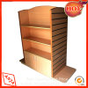 Wooden Retail Clothing Shelving Gondola Display for Store