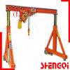 Concrete Floor Portal Crane with Adjustable Beam 2t 3t 5t