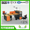 Fashion Workstation Melamine Board Office Desk for 2 Persons (OD-65)