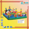 Cartoon Design Inflatable Jumping Slide, Inflatable Castle for Fun (LT-4117A)