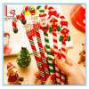 Christmas Santa Claus Gift Advertising Walking-Stick Type Ball Pen Promotional Ballpoint Pen