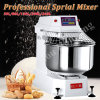 50kg 130L Luxurious Bakery Equipment Spiral Mixer with Timer