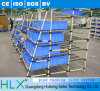 Hlx Supply Shelving Made with PE Pipe