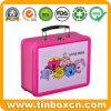 Cartoon Lunch Tin Can Storage Case Metal Gift Box