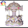 Pinky Carousel Girls Game Machine Kiddie Ride for Amusement Park