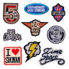 Lovely Clothing Patches Flag Statue Embroidery Sleeve Badge Latest Design Embroidered Patches