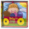 Plush Educational Toy Baby Book for Toddler
