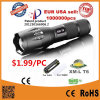 Most Powerful Brightest LED Flashlight Torch with Zoom Focus LED Flashlight