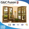 Wood Grain Color Aluminum Frame Thermal-Break Aluminum Door