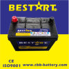 High Quality Maintenance Free Car Battery DIN Standard 54320-12V43ah