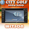 Witson Touch Screen DVD Volkswagen City Golf W2-D9230V