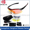 First Quality Polarized Custom Logo Sports Sunglasses Interchangeable Arms Anti UV400 Riding ...