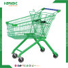 Stylish Green Supermarket Grocery Shopping Cart